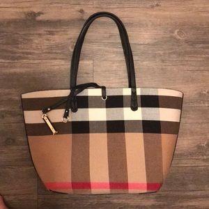 Checkered bag